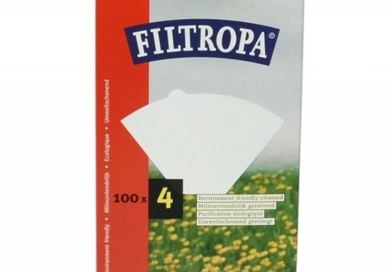 Filtropa koffiefilters nr 4 100 stuks