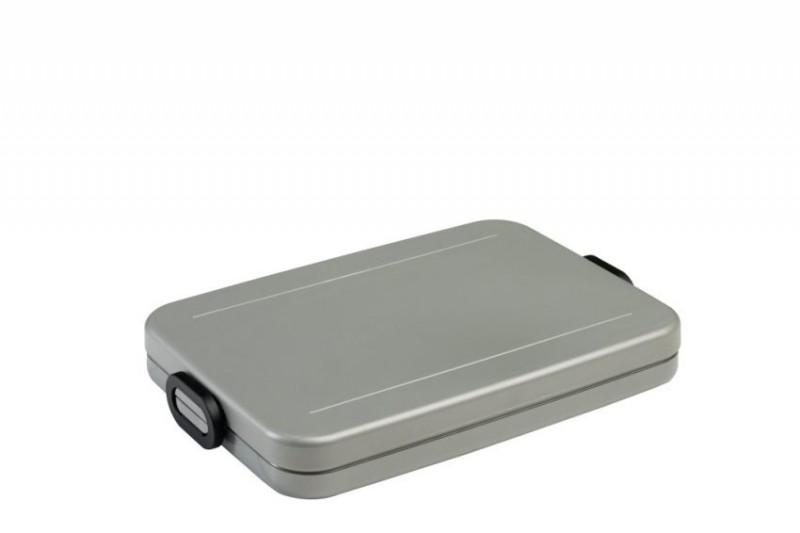 Mepal lunchbox Take a break flat silver