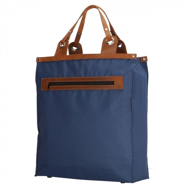 Run Away shopper blauw