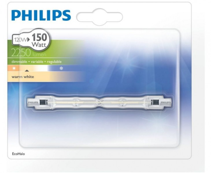 Philips ecohalo staaf 120 Watt 118 mm