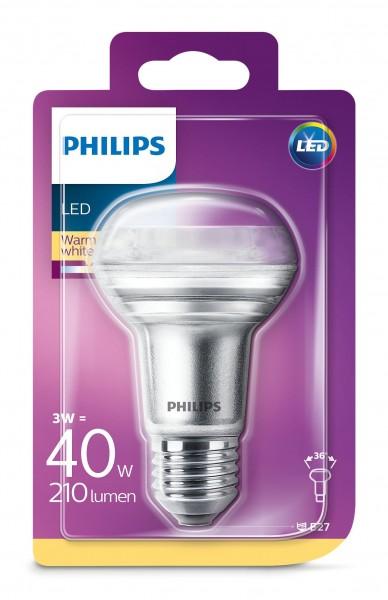 Philips LED spotlamp R63 WW 40W E27
