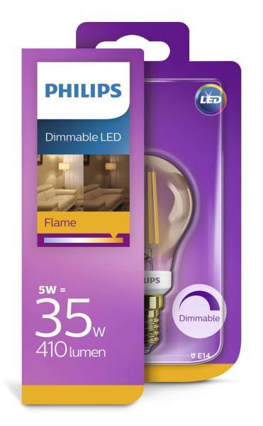 Philips Kogellamp Led 5W E14 Dimbaar