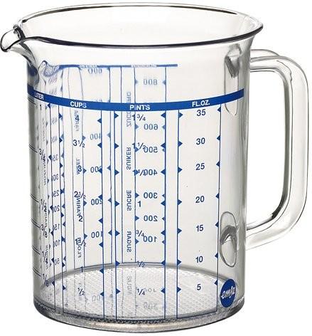Emsa maatkan helder 10 liter