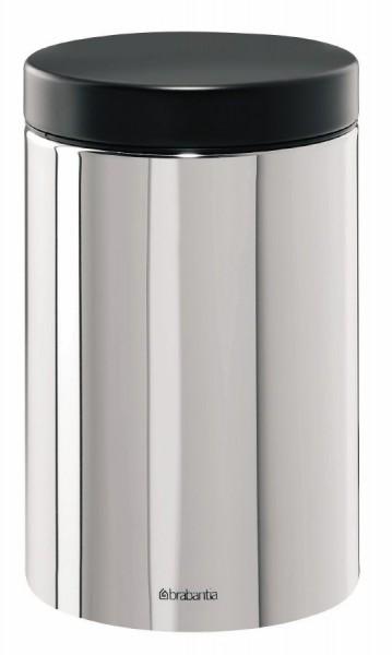 Brabantia voorraadbus 1 4 liter Brilliant Steel