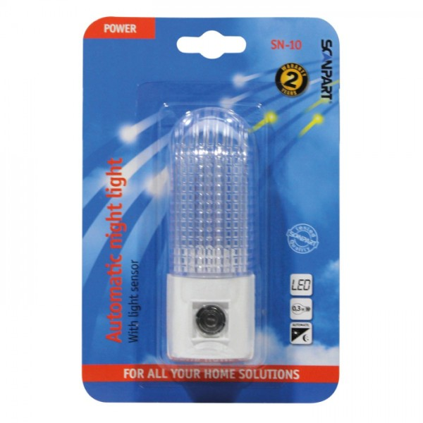 Scanpart LED Nachtlampje met sensor SN10