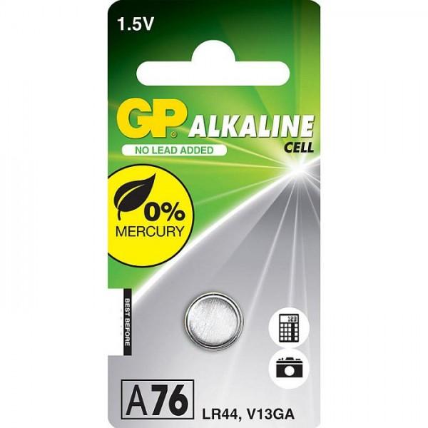 GP Knoopcel Alkaline Batterij 76A-LR44