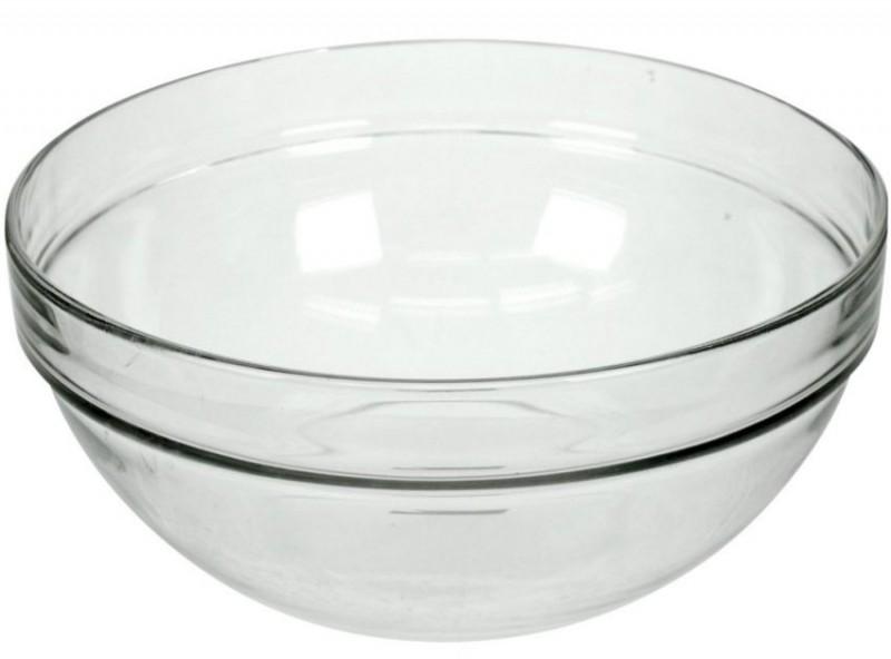 Luminarc schaal stapelbaar glas rond 12cm