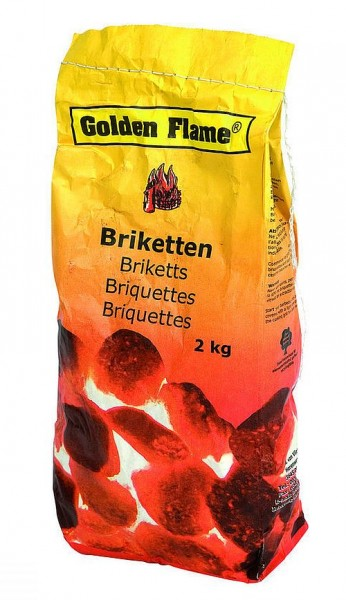 Golden Flame Briketten 2 Kilo