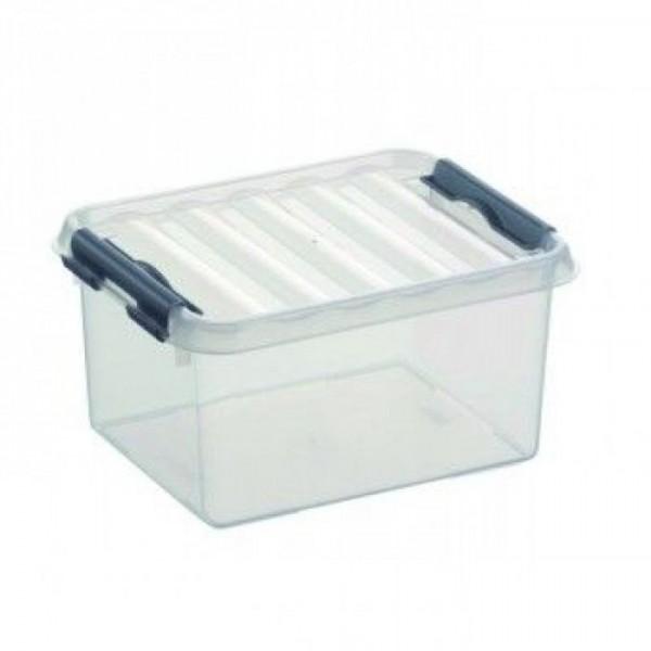 Sunware opbergbox met deksel Q-line 2 liter small