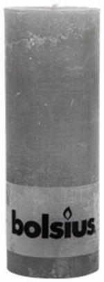 Bolsius Stompkaars Grijs 19 Centimeter