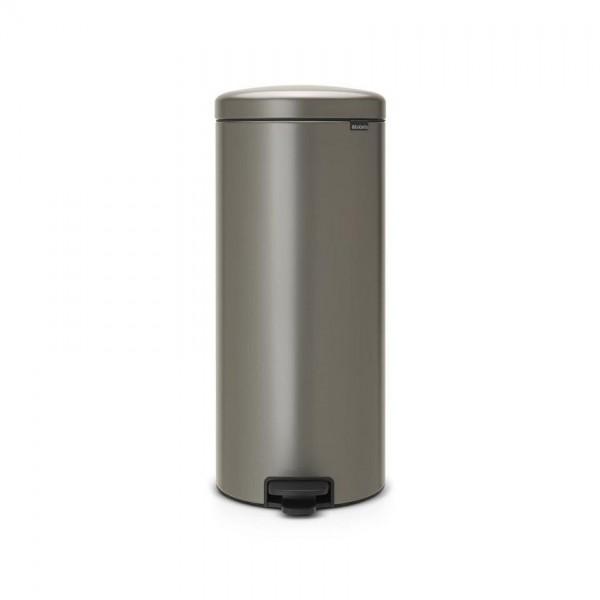 Brabantia Pedaalemmer NewIcon 30 Liter Platinum