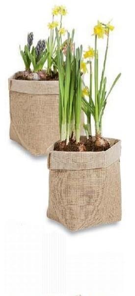 Plantenzak Jutelook