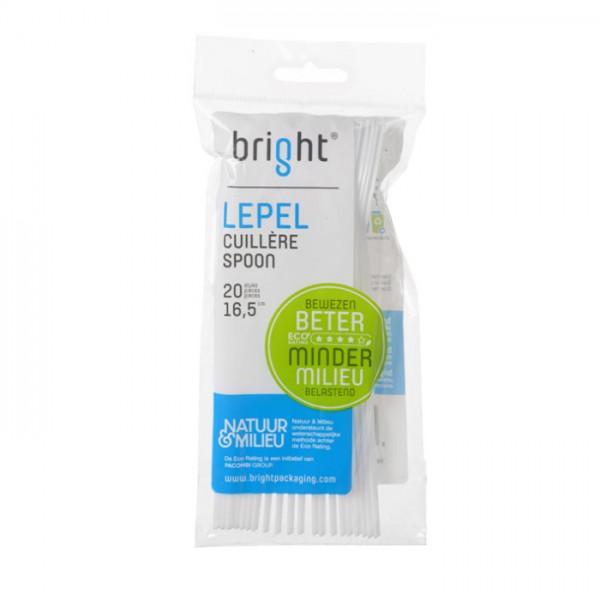 Bright Wergwerp Lepels 20 stuks