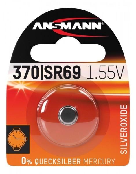 Ansmann Knoopcelbatterij Zilver 370/SR69