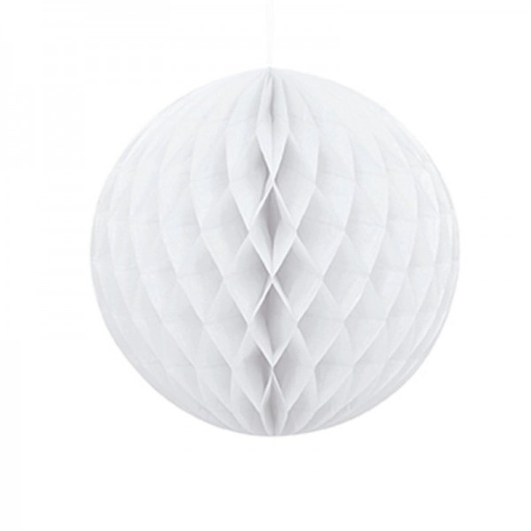 Paper Honeycomb Luxe White