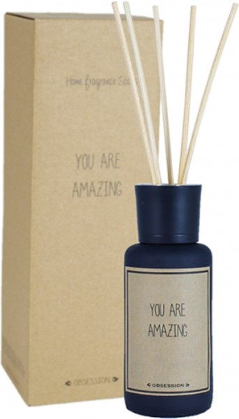My Flame Lifestyle reed diffuser zwart obsession