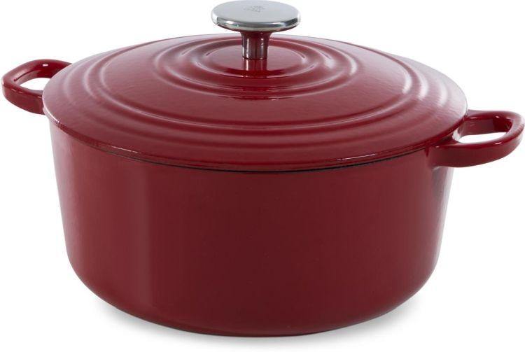 BK Bourgogne braadpan 28cm chili red