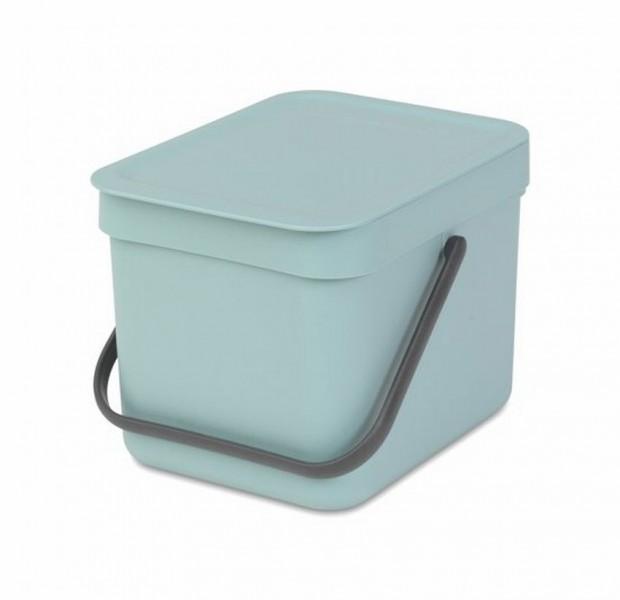 Brabantia Sort & Go Afvalemmer 6 Liter Mint