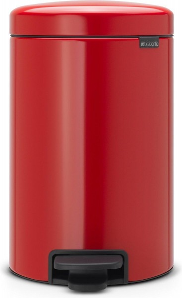 Brabantia NewIcon pedaalemmer 12 liter passion red
