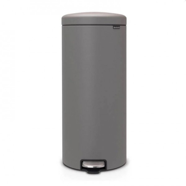 Brabantia NewIcon pedaalemmer 30 liter mineral concrete grey