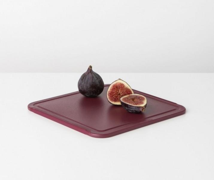 Brabantia snijplank Tasty+ aubergine red medium