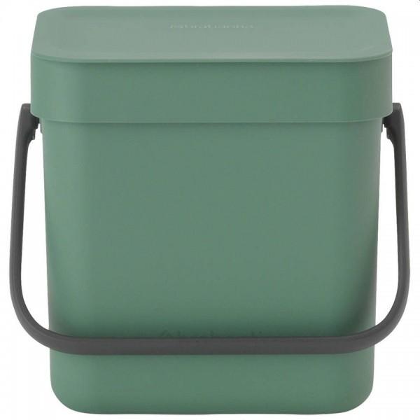 Brabantia Sort & Go afvalbakje 3 liter fir green