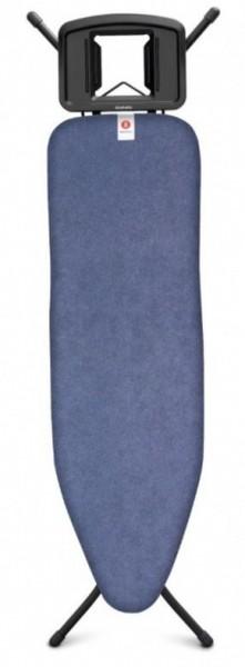 Brabantia strijkplank B 124x38cm denim blue met strijkijzerhouder