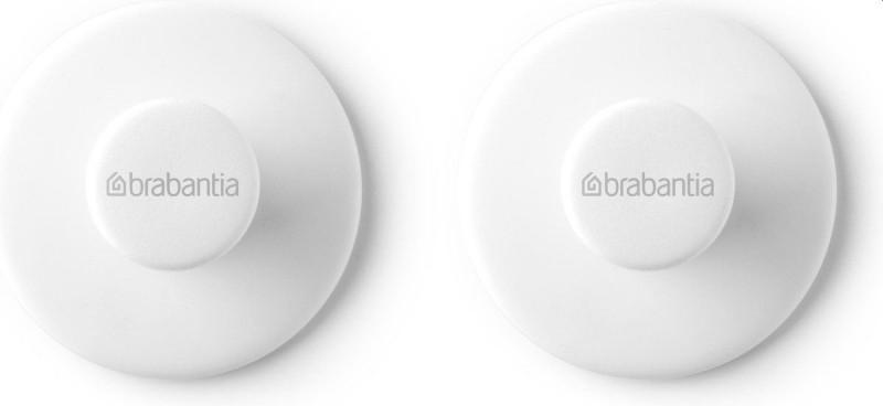 Brabantia ReNew handdoekhaakjes 2 stuks wit