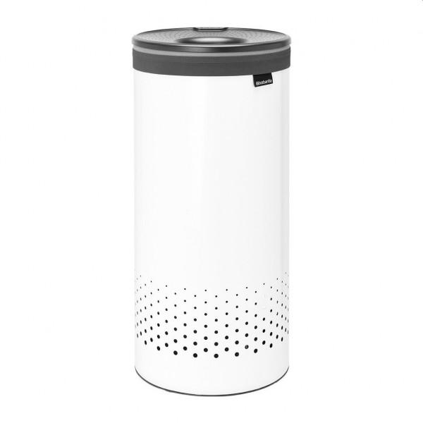 Brabantia wasbox met kunststof deksel 35 liter wit