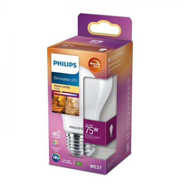 Philips LED 75W E27 1055 lumen peer dimbaar