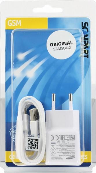 Scanpart Samsung snellader USB-C 2A wit