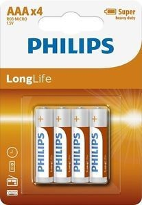 Philips batterij aaa long life