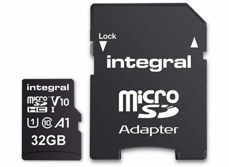 Integral Micro-SDHC V10 100MB 32GB