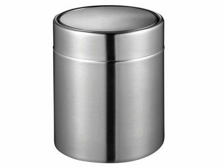 EKO Fandy tafelafvalbakje 1.5 liter roestvrijstaal
