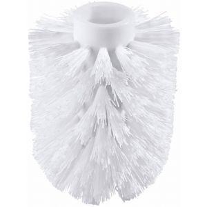 Toiletborstel kop wit