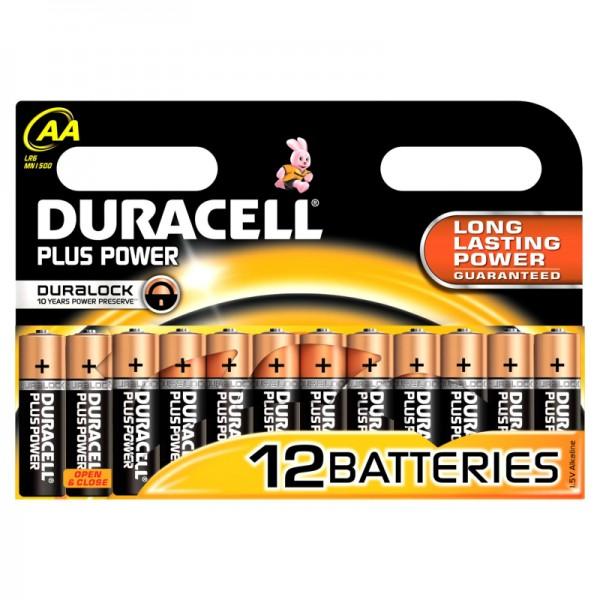 Duracell Batterijen Plus Power 12-Pack AA