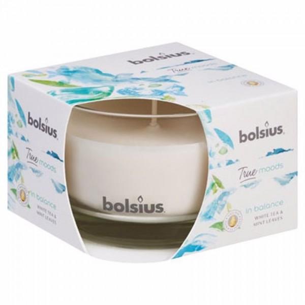 Bolsius geurkaars True Moods In Balace White tea Mint Leaves