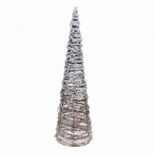 Cone rotan met LED 80cm