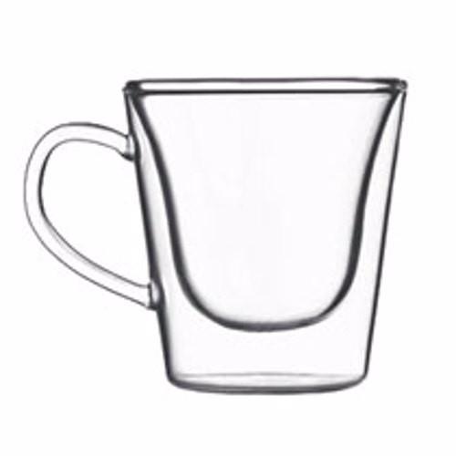 Glas dubbelwandig luige 2 stuks