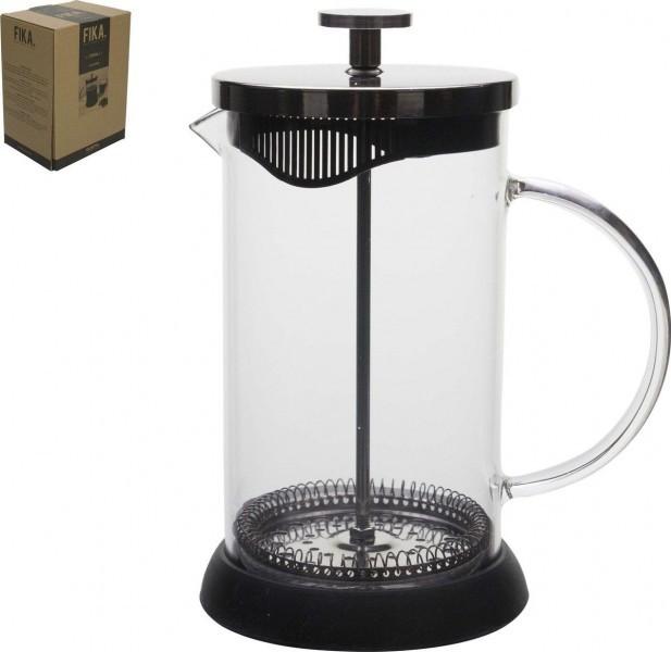 Gusta Cafetiere 700ml glas zwart