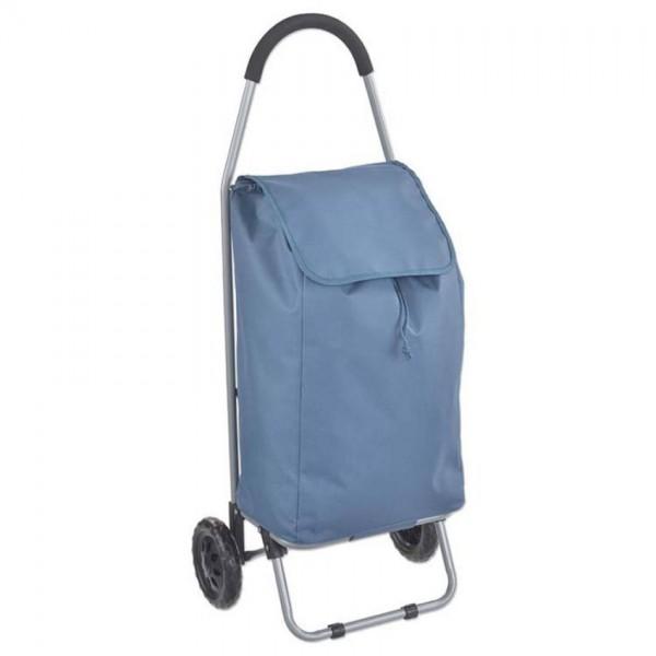 Princess Traveller boodschappentrolley blauw polyester