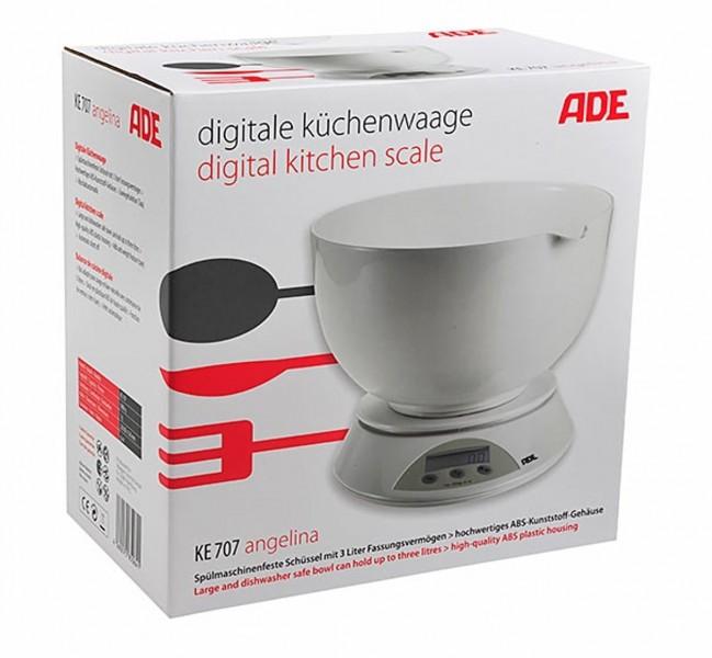 ADE digitale keukenweegschaal KE707