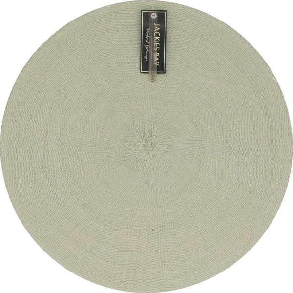 Jackies Bay placemat 38cm rond groen