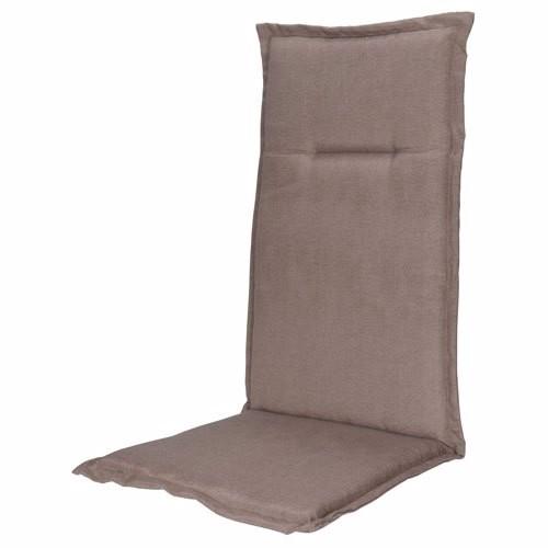 Kp stoelkussen taupe 120x50cm