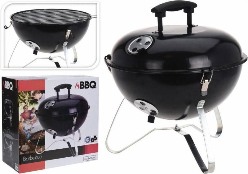 Barbecue bolvormig 37cm zwart