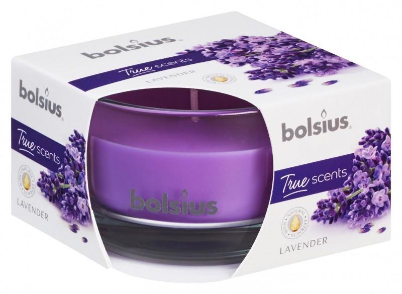 Bolsius True Scents geurkaars lavendel 8x5cm