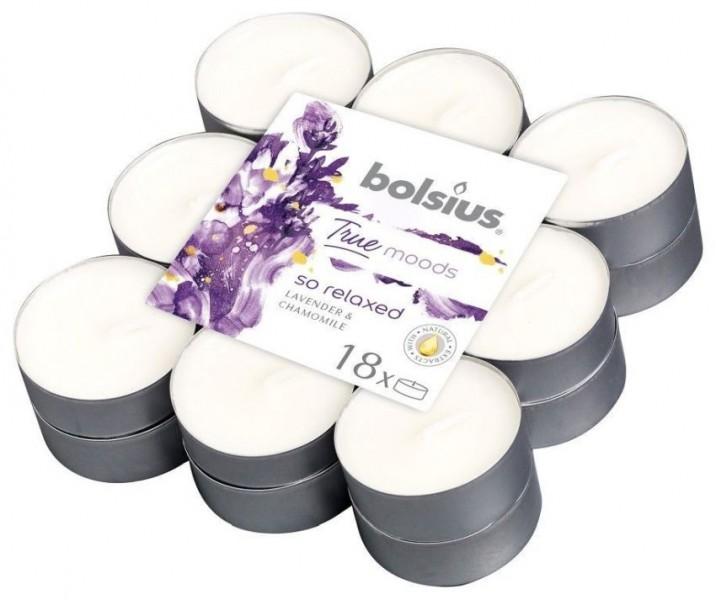 Bolsius True Moods So Relaxed 18 stuks lavendel