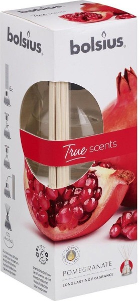 Bolsius True Scents geurverspreider 45ml granaatappel