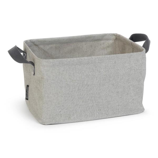Brabantia opvouwbare wasmand 35 liter grijs