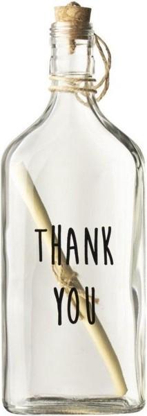 Flessenpost thank you